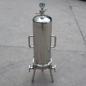 Sanitary Stainless Steel Cartridge Filter Housing pictures & photos