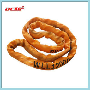 Endless Lifting Webbing or Round Sling with High Intensity pictures & photos