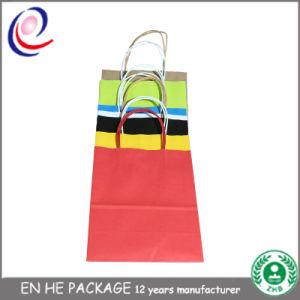Fast Delivery Glossy Effect Custom Logo Printed Paper Shopping Bags pictures & photos