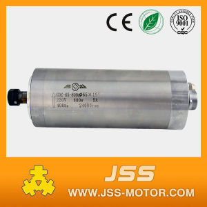 800W 220VAC Water Cooled Small Spindle Motor pictures & photos