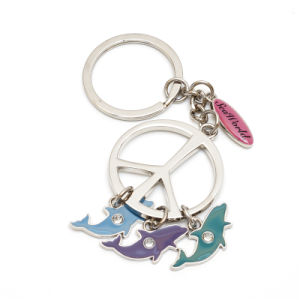 Custom Metal Fish Keychains for Promotion Gifts pictures & photos