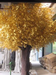Fake Live Golden Artificial Ficus Tree Artificial Banyan Tree pictures & photos