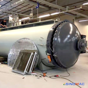 2800X8000mm ASME Certified Industrial Composite Curing Reactor (SN-CGF2880) pictures & photos