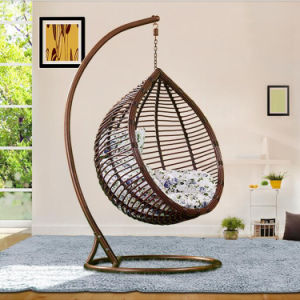 Chromatic Factory Outdoor Swing, Rattan Furniture, Indoor Egg Hanging Chair (D017A) pictures & photos