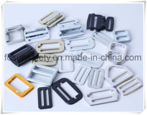 Drop Forged Adjuster Buckles of Zinc Plating Double Slot pictures & photos