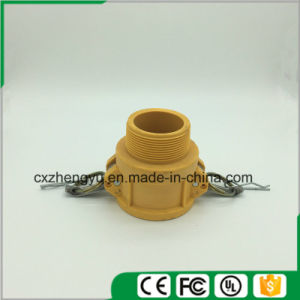 Plastic Camlock Couplings/Quick Couplings (Type-B) , Yellow Color pictures & photos