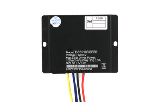 LED Power Supply IP67 12/24V with 30W-60W Waterproof LED Power Driver Dccp10060dpr pictures & photos