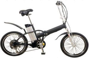 China Wholesale Ebike 36V 250W Folding Electric Bike with F-V Brake/R Servo Brake pictures & photos