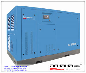 200kw/300HP 1112.4cfm Water Cooling Variable Speed Screw Compressor pictures & photos