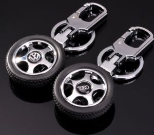 Car Wheel Shape Keychain pictures & photos