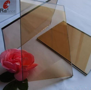 8mm Tinted Brown Float Glass From professional Supplier (3mm-19mm) pictures & photos