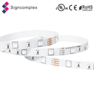 Decoration 24V LED Rope Light, Multicolor LED Strip RGB 5050 with Ce RoHS pictures & photos