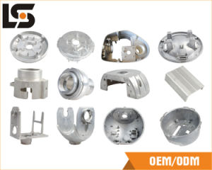 Aluminum CCTV Dome Camera Housing Before spray Coating pictures & photos