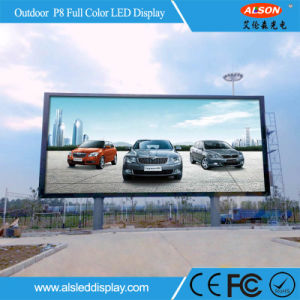 High Brightness P8 LED Sign for Outside Advertising pictures & photos