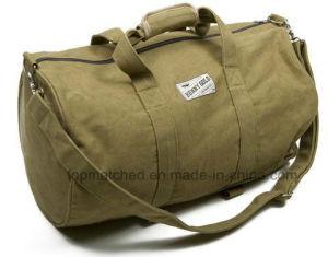 Wholesale Canvas Travel Sport Duffle Gym Bag pictures & photos