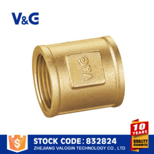 China Manual Ball Valve Brass Fitting with Fxf pictures & photos