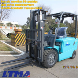 3.5 Ton China Electric Forklift Truck with Curtis Control System pictures & photos