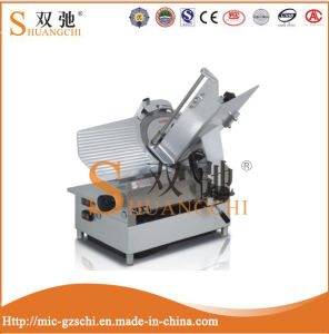 Restaurant Commercial Meat Processing Electric Full Automatic Frozen Meat Slicer pictures & photos