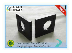 Custom CNC Machining Aluminum 6061 6082 7075 with Black Anodizing pictures & photos