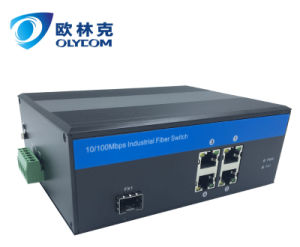 4UTP Unmanaged 10/100Mbps Megabit Industrial Ethernet Switch (IM-WS040FE) pictures & photos