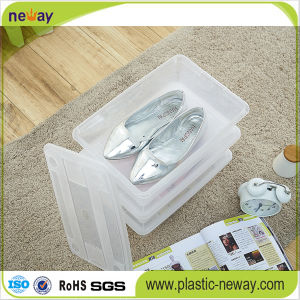 Transparent Plastic Shoe Storage Container pictures & photos