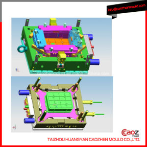 Plastic Injection Milk Crate/Turn Over Box Mould pictures & photos