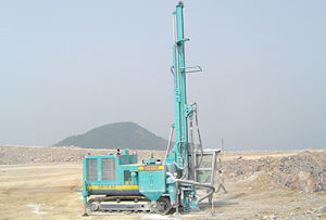 Sunward Brand Hot Sale Rock Cut Machine Cutting Drilling Rig pictures & photos
