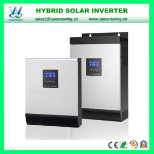 DC48V AC230V Inbuilt 60A MPPT Solar Controller 4kVA Solar Hybrid Inverter for 3 Phase Equipment pictures & photos