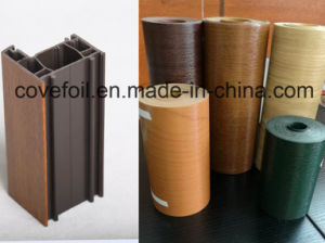 P; Astic Cover/Laminating PVC Foil for Wall Panel/Window Profiles pictures & photos