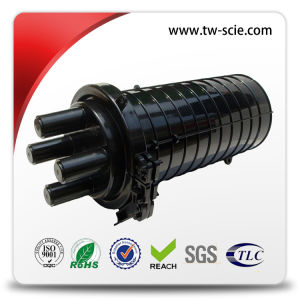 96 Ports PLC Splitter Dome Fiber Optic Splice Closure for Aerial and Direct Buried pictures & photos