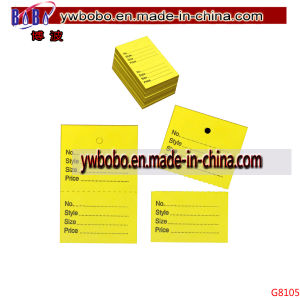 Party Products Garment Label Name Tag Price Stock Tags Tagging (G8105) pictures & photos