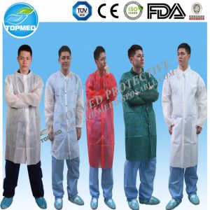 Polypropylene Lab Coat, PP Lab Coat pictures & photos