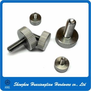 Stainless Steel Round Big Head Knurling Thumb Screw (M3 M4 M5 M6) pictures & photos