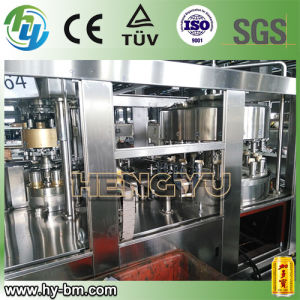 Automatic 2 in 1 Beverage Filling Machine Price pictures & photos