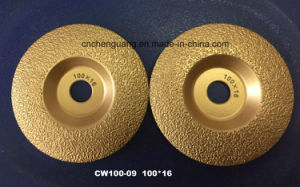 Vacuum Brazed Diamond Dry Cutting Saw Blade for Granite Marble Tile Steel pictures & photos