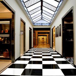 600X600 Super Black Polished Porcelain Floor Tile (WT-6880) pictures & photos