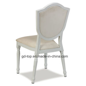 Hotel Classy Restaurant Round Back Metal Dining Chair pictures & photos