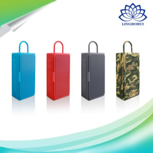 Four Colors Subwoofer Wireless Portable Speaker for Climbing Walking Dancing pictures & photos