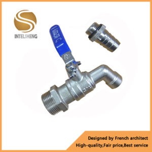 High Quality Ball Valve Brass Water Bibcock pictures & photos