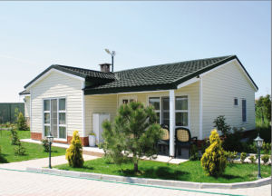 One Storey Light Steel Home Modular House Prefab Building pictures & photos