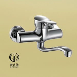 Oudinuo Brass Body Zinc Handlle Shower Mixer 68214 pictures & photos