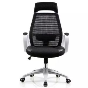 Steel Base Synthetic Leather Mesh Uphostery Racing Gaming Chair (HX-C635) pictures & photos