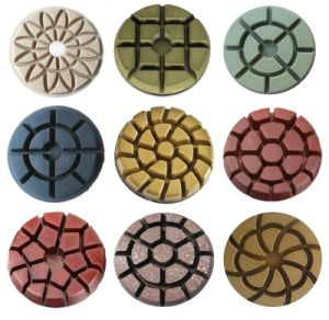 Floor Diamond Polishing Pads for Concrete and Terrazzo pictures & photos
