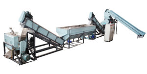 PP PE Film Flake Plastic Recycling Machine for Washing Granulating
