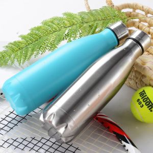 500ml Stainless Steel Double Wall Vacuum Water Sports Bottle (SH-ST17) pictures & photos