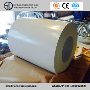Prepainted Galvanized/ Galvalume Steel Coils with Protective Plastic Film pictures & photos