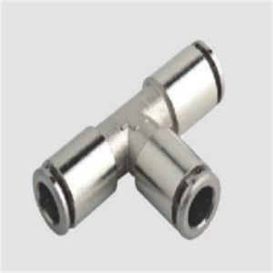 PC Straight Brass Metal Pneumatic Fitting pictures & photos