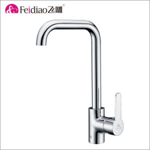 China Factory Direct High Quality Brass Single Handle Kitchen Sink Tap
