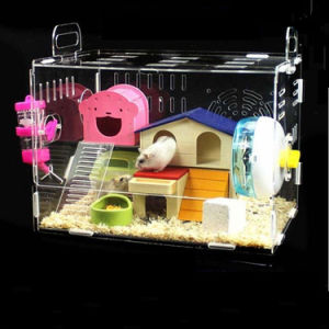 Wholesale Custom Manufacture Acrylic Hamster House pictures & photos