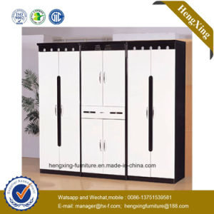 Chinese Modern Home Furniture Wooden Bedroom Wardrobe (HX-S208) pictures & photos